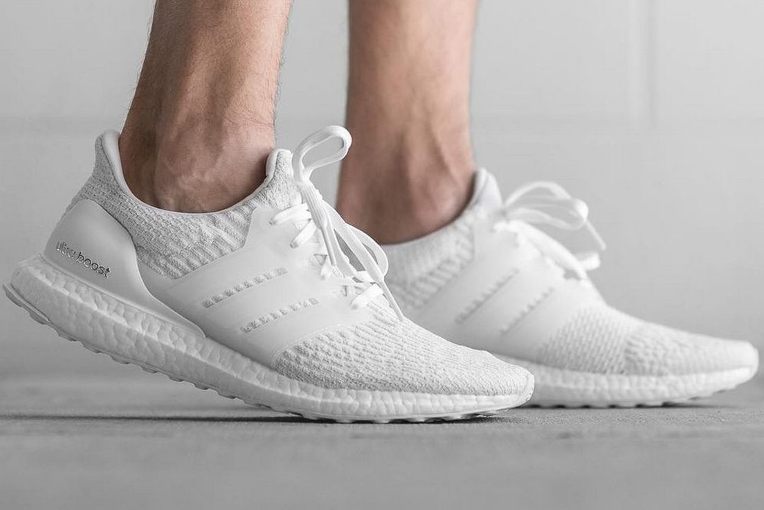 "reputable site 727b4 50cf8 adidas Ultra Boost 3.0 ""Triple White"" - First Look - Sneaker ..."