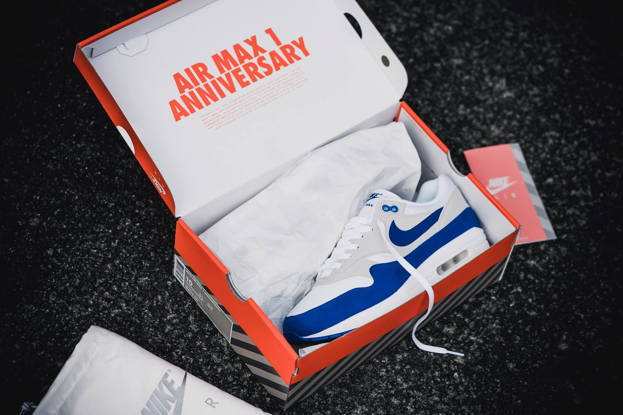 RESTOCK Nike Air Max 1 OG Anniversary in White and