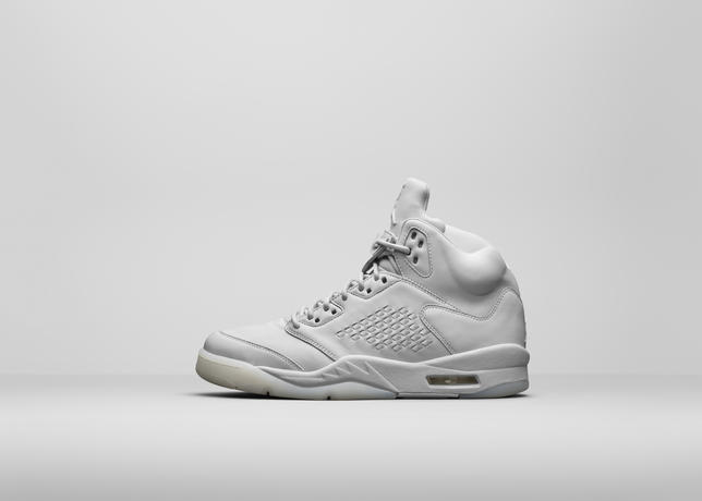 f658bab06e28 ... Air Jordan 5 Premium White – Official Look   Release Info