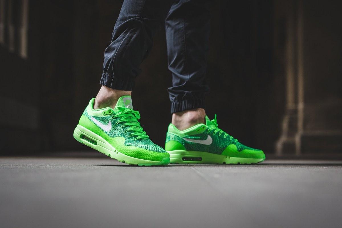 Nike Air Max 1 Ultra Flyknit Men Green
