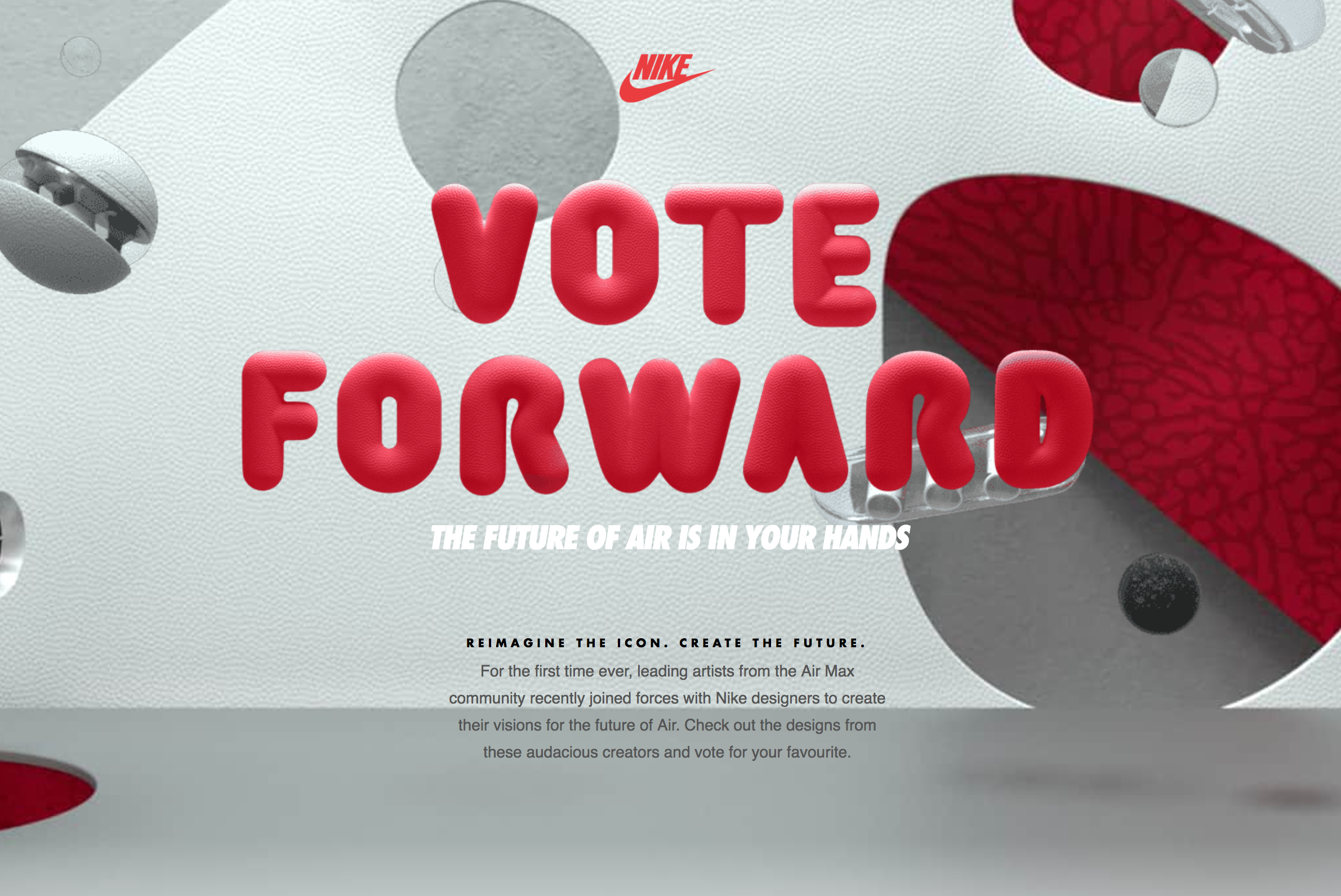 ab9e320842 ... Nike Vote Forward Campaign - AIR MAX DAY 2018 VOTINGS - Snea ...