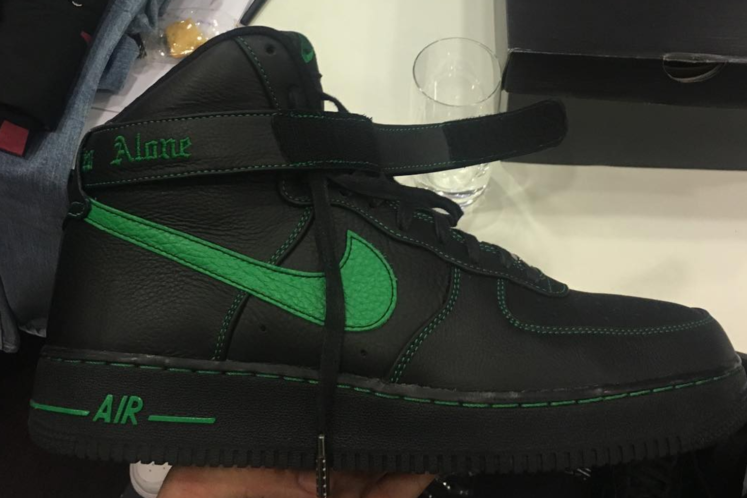 Vlone x Nike Air Force 1 Green