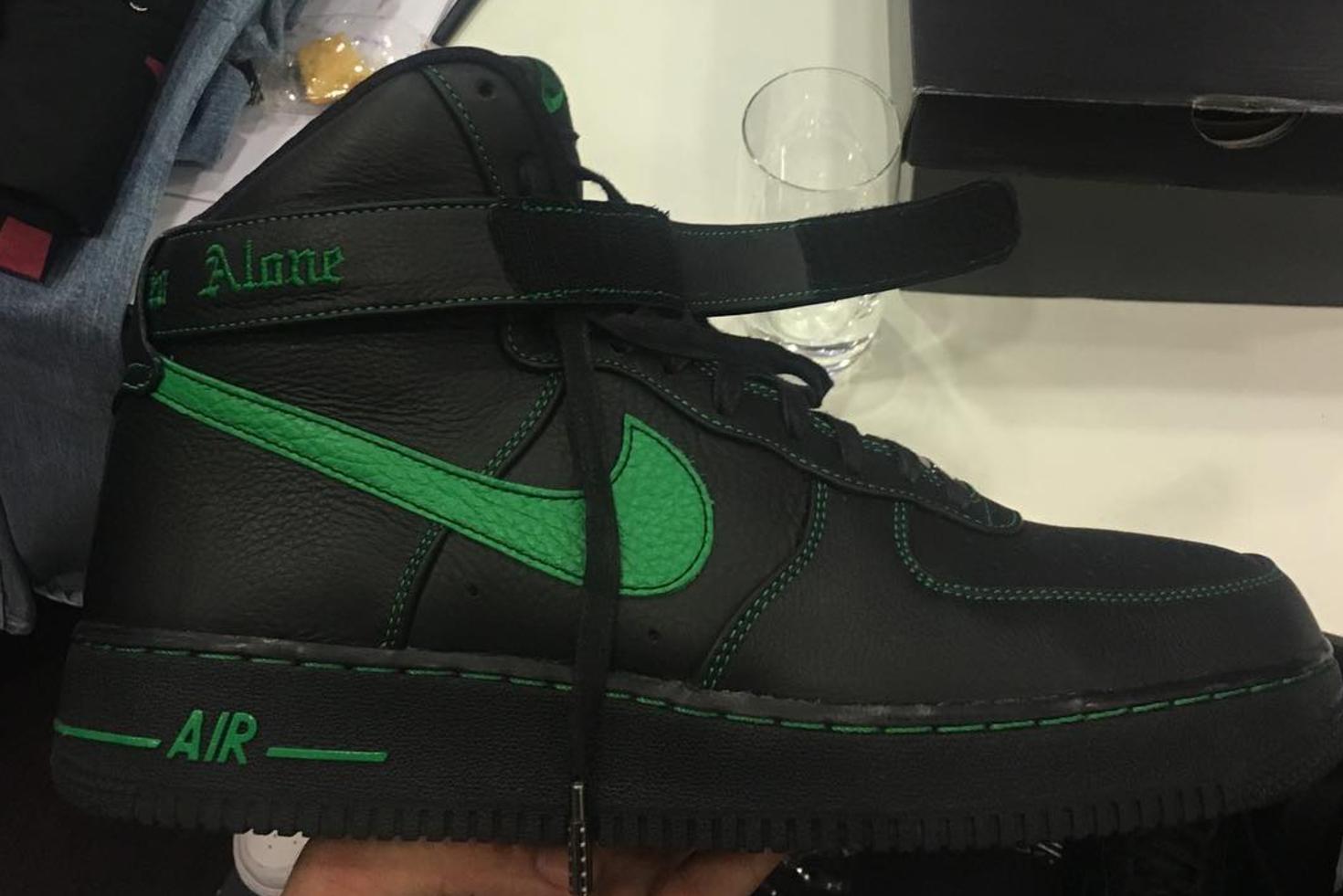Vlone x Nike Air Force 1 Green