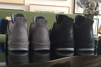 Black Jordan 4 x Kaws Not Releasing?