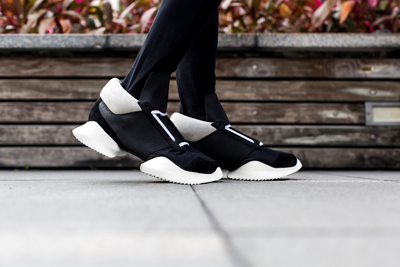 """e9648787fe6 The first Rick Owens x adidas collection was shown during the """"VICIOUS""""  collection. This initial drop featured the Runners"""