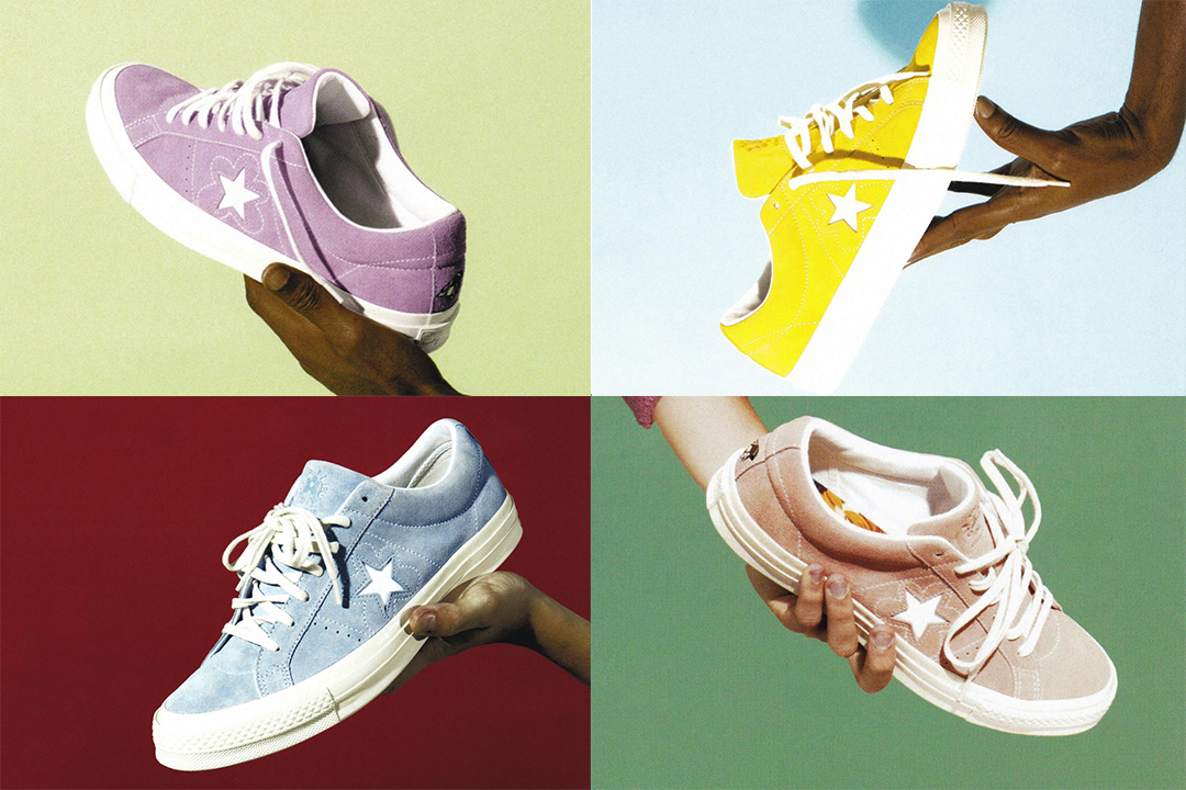 """31ad5791 Tyler, The Creator continues the coveted casual footwear model's plentiful  crop of collaborations with a flower power inspired pack, """"Le Fleur""""."""