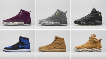 Jordan Unveil New Releases For The Holiday Season