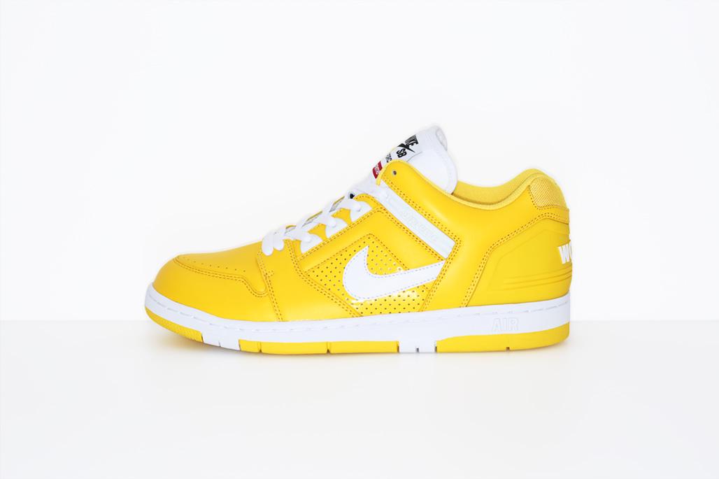 Supreme x Nike SB Air Force 2 Releasing This Week! Sneaker