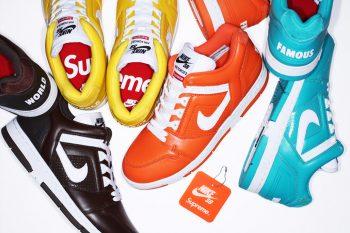 Supreme x Nike SB Air Force 2 Releasing This Week!