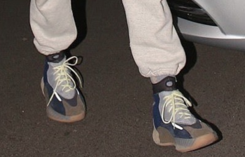 Kanye Spotted Wearing New Yeezy?