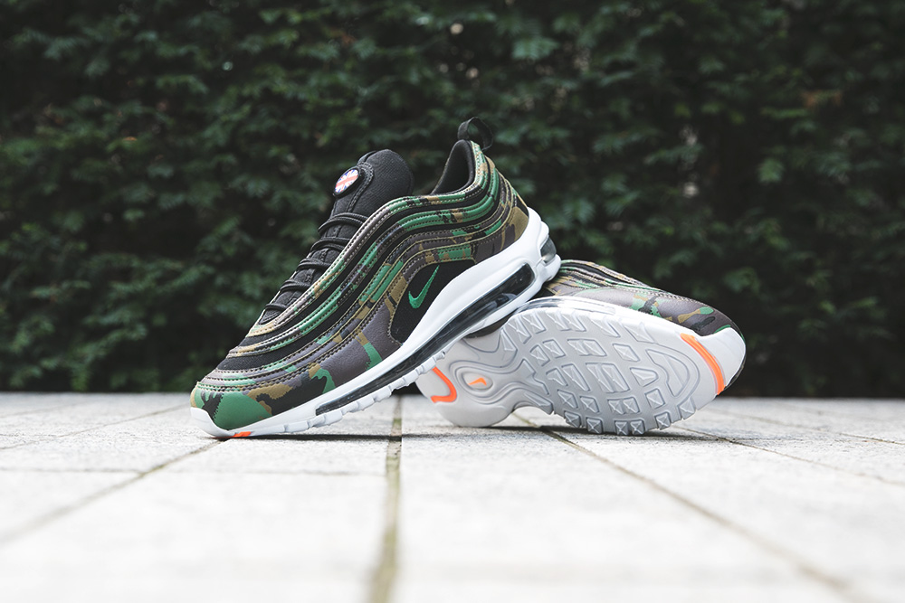 uk availability a823e 0e0c2 Two decades ago, the Air Max 97 Premium turned heads with its future-facing  design and full-length visible Air cushioning. Now it returns outfitted in  camo ...