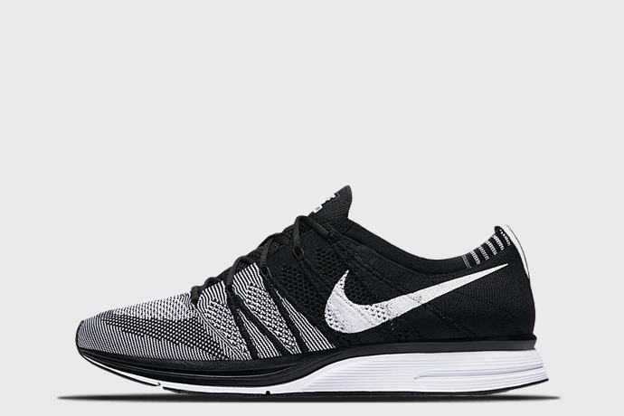 8e39c79db8e Nike Flyknit Trainer  Black White  - Sneaker Myth