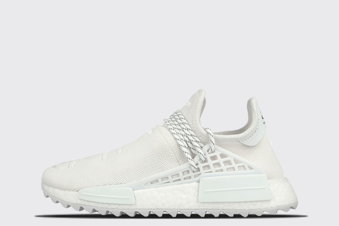 1268fd563 adidas x Pharrell Williams HU NMD Trail  Holi - Blank Canvas  - Sneaker Myth