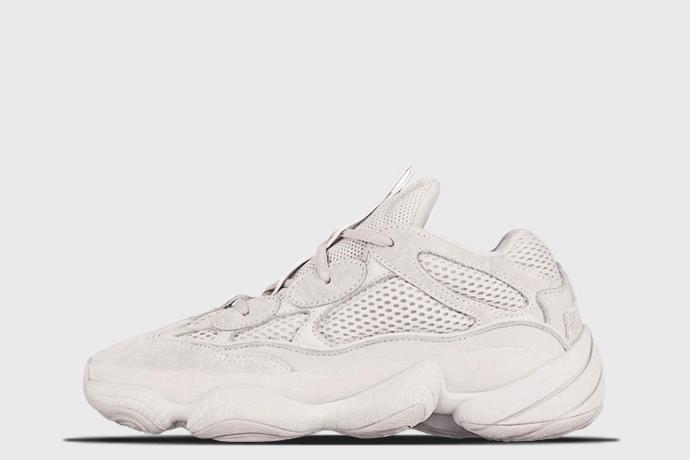 new style 5493e 2c0c0 adidas Yeezy 500 'Blush' - Sneaker Myth