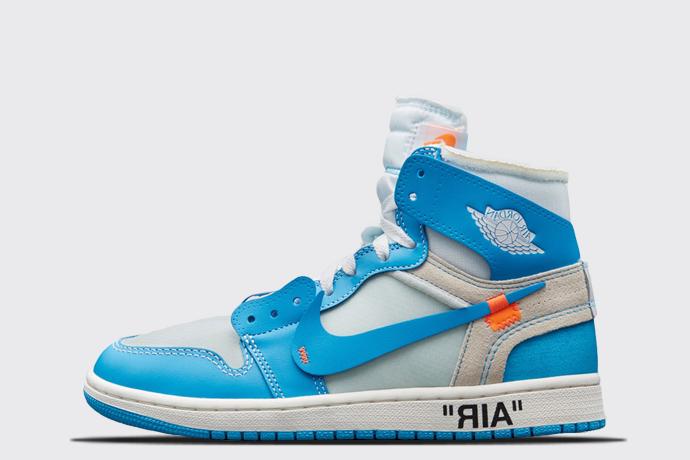 online store 1dccf 50ecd Off-White x Air Jordan 1  UNC  - Sneaker Myth
