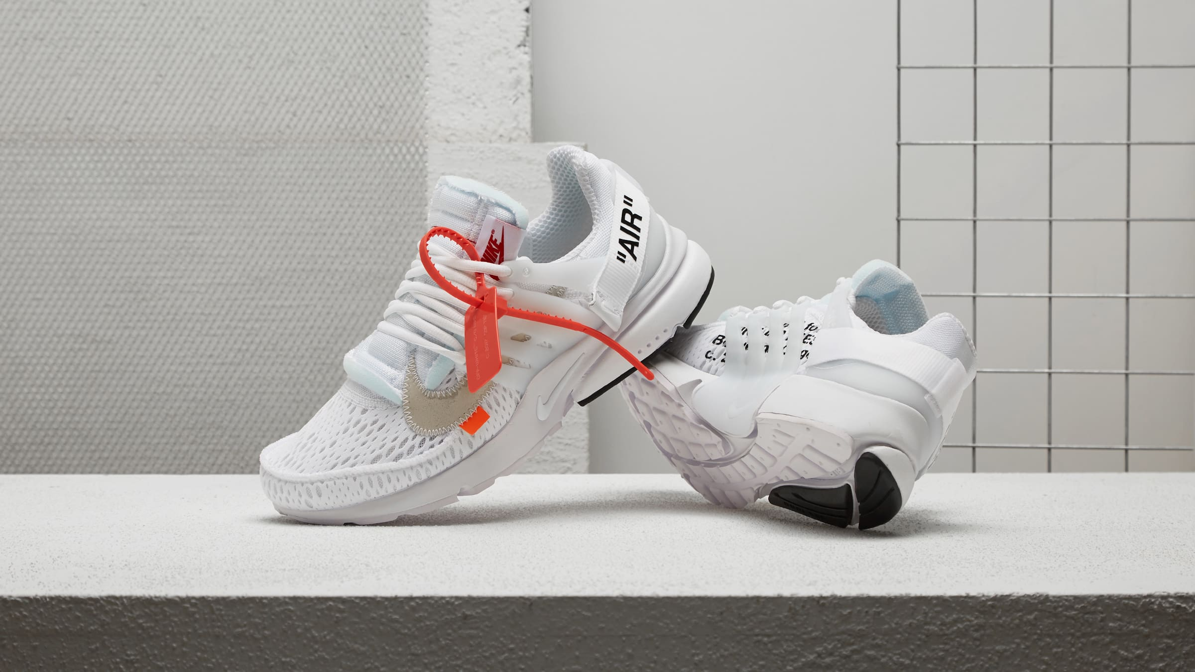 promo code fc507 e264b Nike and Virgil Abloh reissue The Ten  Nike Air Presto x Off-White in  striking monochrome. This maximalist take on the early 2000s icon features  additional ...