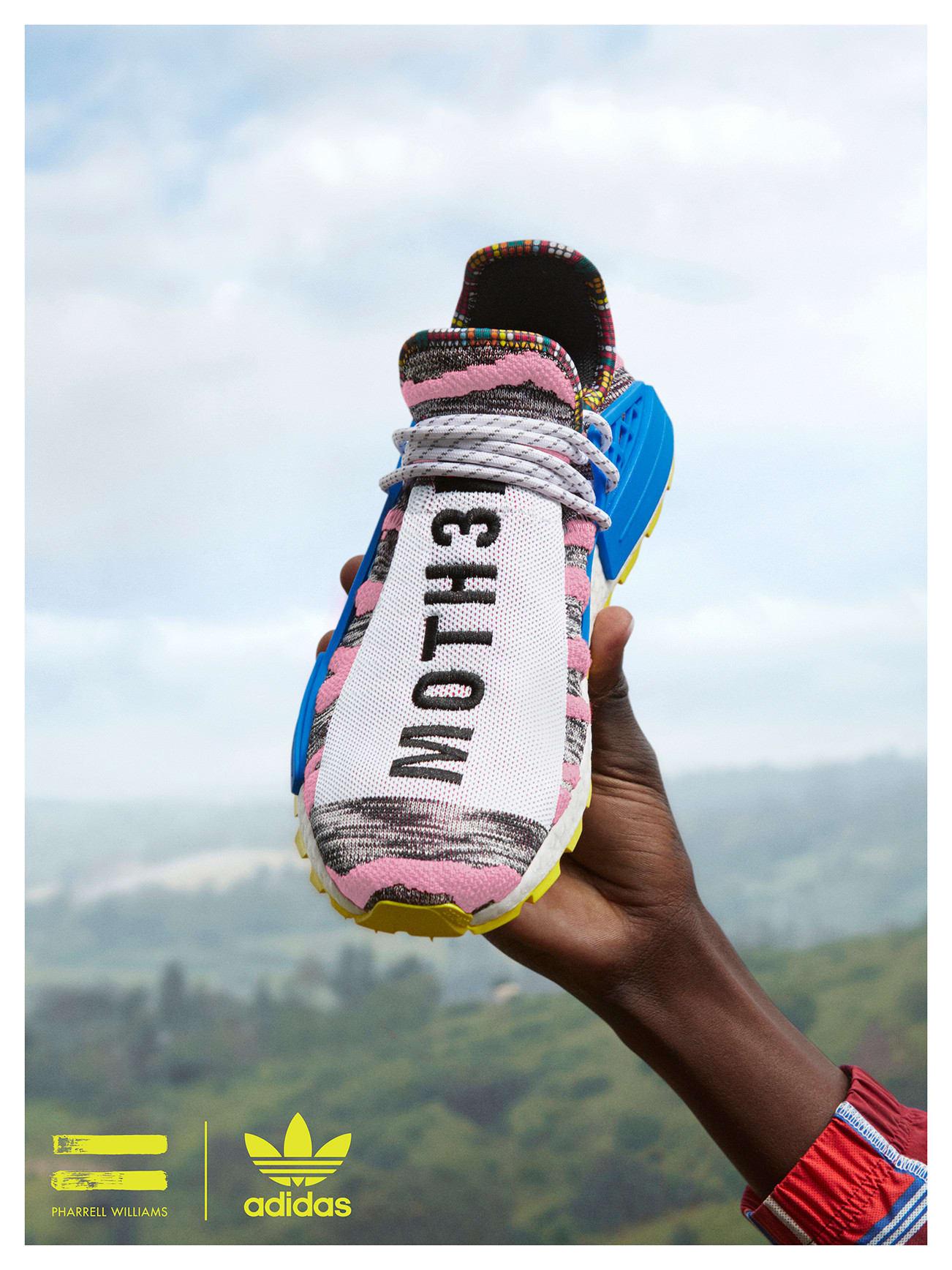295aa710e Pharrell Williams x adidas Solar HU NMD  Afro Pack - Sneaker Myth