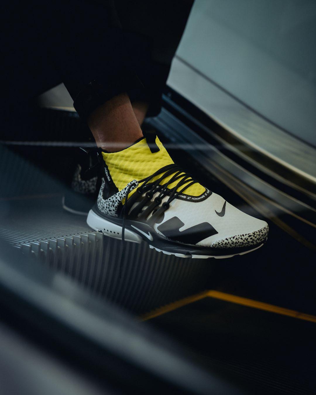 9328983372d NikeLab-Air-Presto-Mid-x-Acronym-Dynamic-Yellow-3 - Sneaker Myth