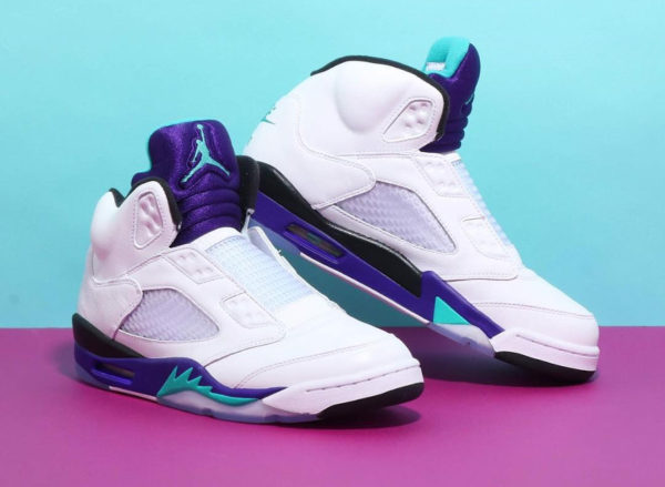 """b2b605900e6 With countless iconic sneaker appearances during all six seasons, Jordan  Brand now pays tribute to Will Smith and the series with a laceless Air  Jordan 5 """" ..."""