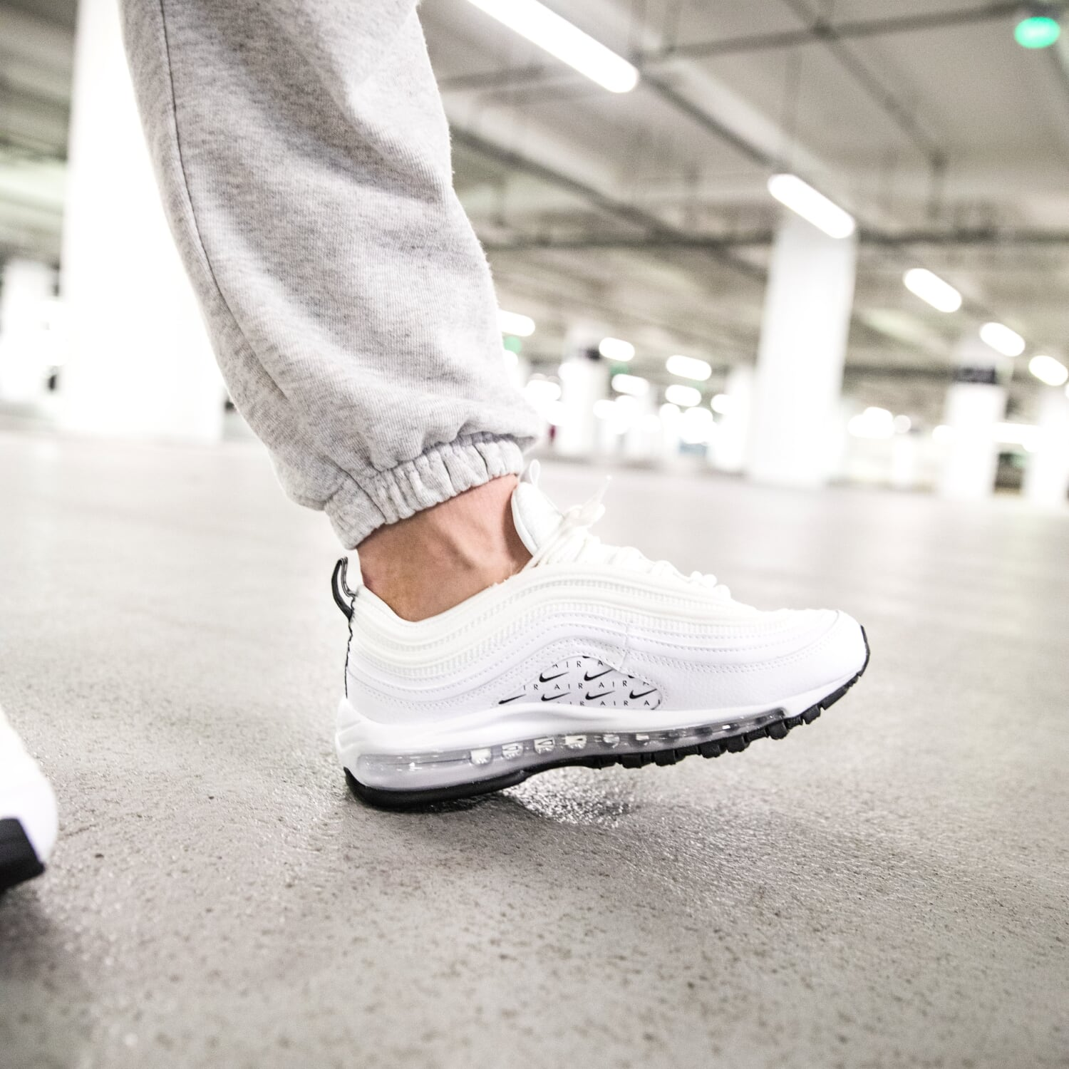 21a661c3b5f MYTHFOCUS  Nike Air Max 97 LX Overbranded  White  - Sneaker Myth