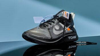 Off-White x Nike Zoom Fly SP 'Black'