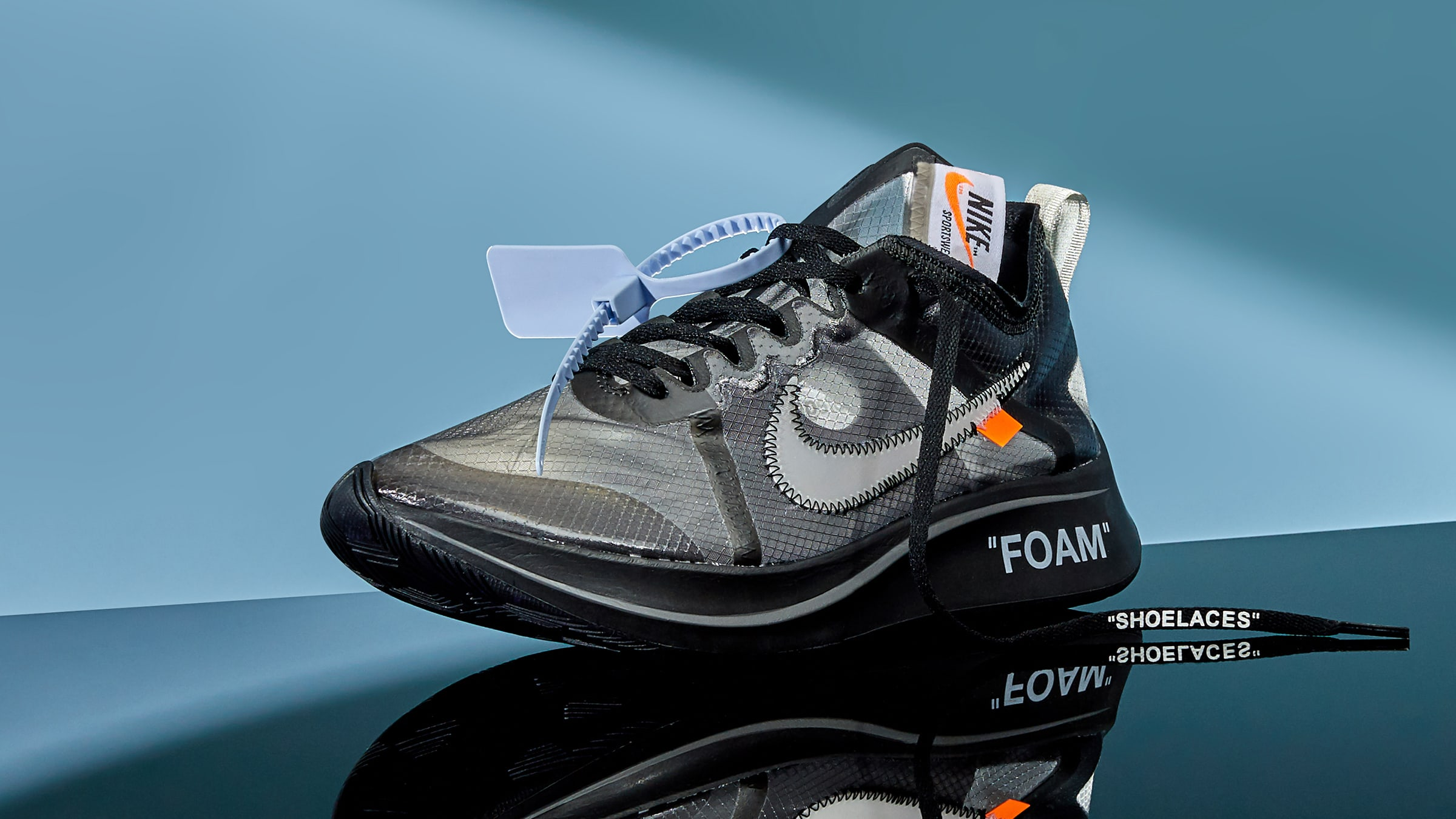 Off-White x Nike Zoom Fly SP 'Black