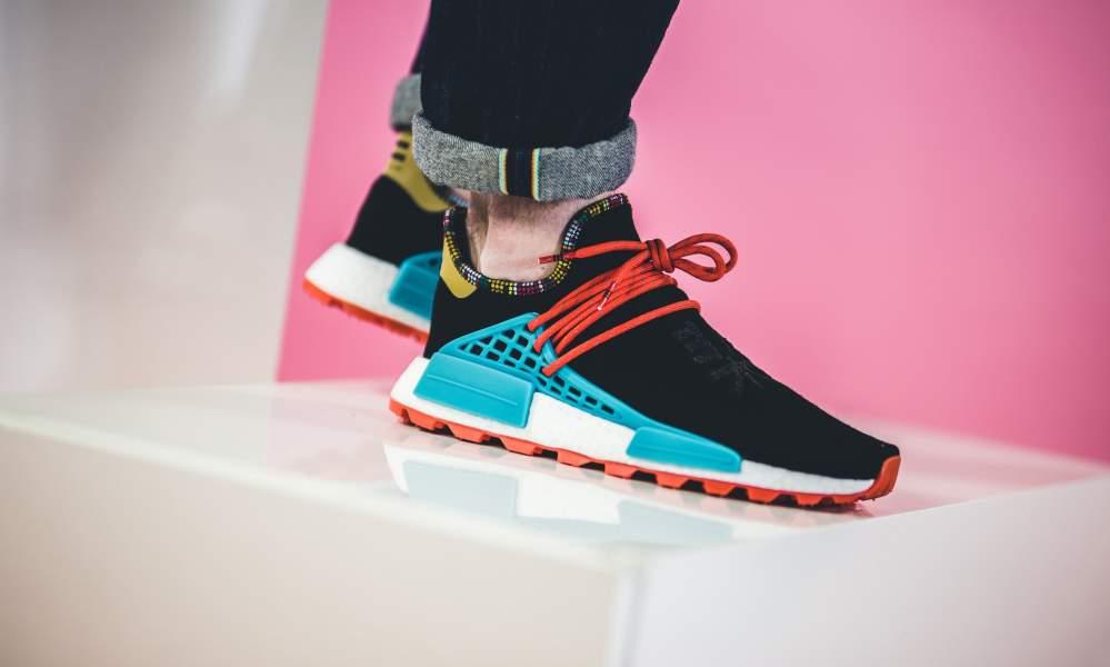 adidas pharrell williams black and blue