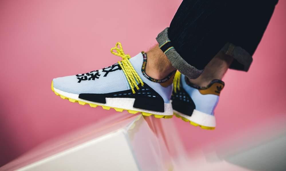 3d99143ec adidas x Pharrell Williams Solar Hu NMD  Inspiration Pack  - Sneaker ...