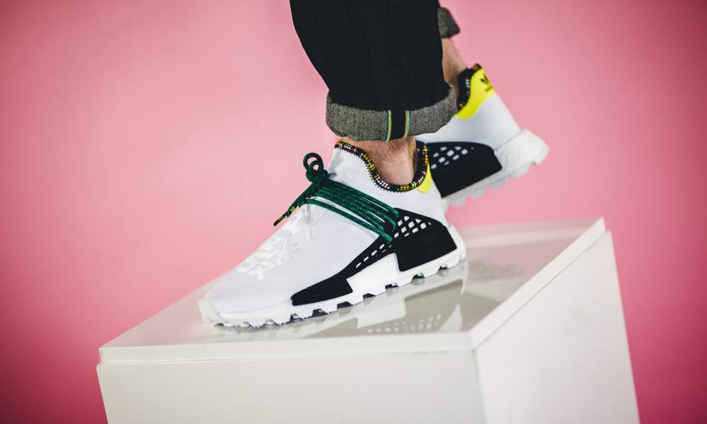 3ffb1e5ecae48 adidas x Pharrell Williams Solar Hu NMD  Inspiration Pack  - Sneaker ...