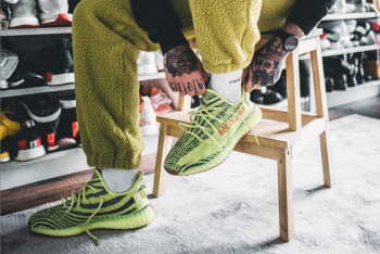adidas Yeezy 350 V2 'Semi Frozen Yellow' – Raffle List