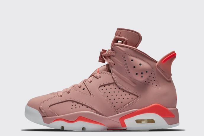 uk availability b77b5 95e45 Aleali May x Air Jordan 6 Retro Wmns Milennial Pink
