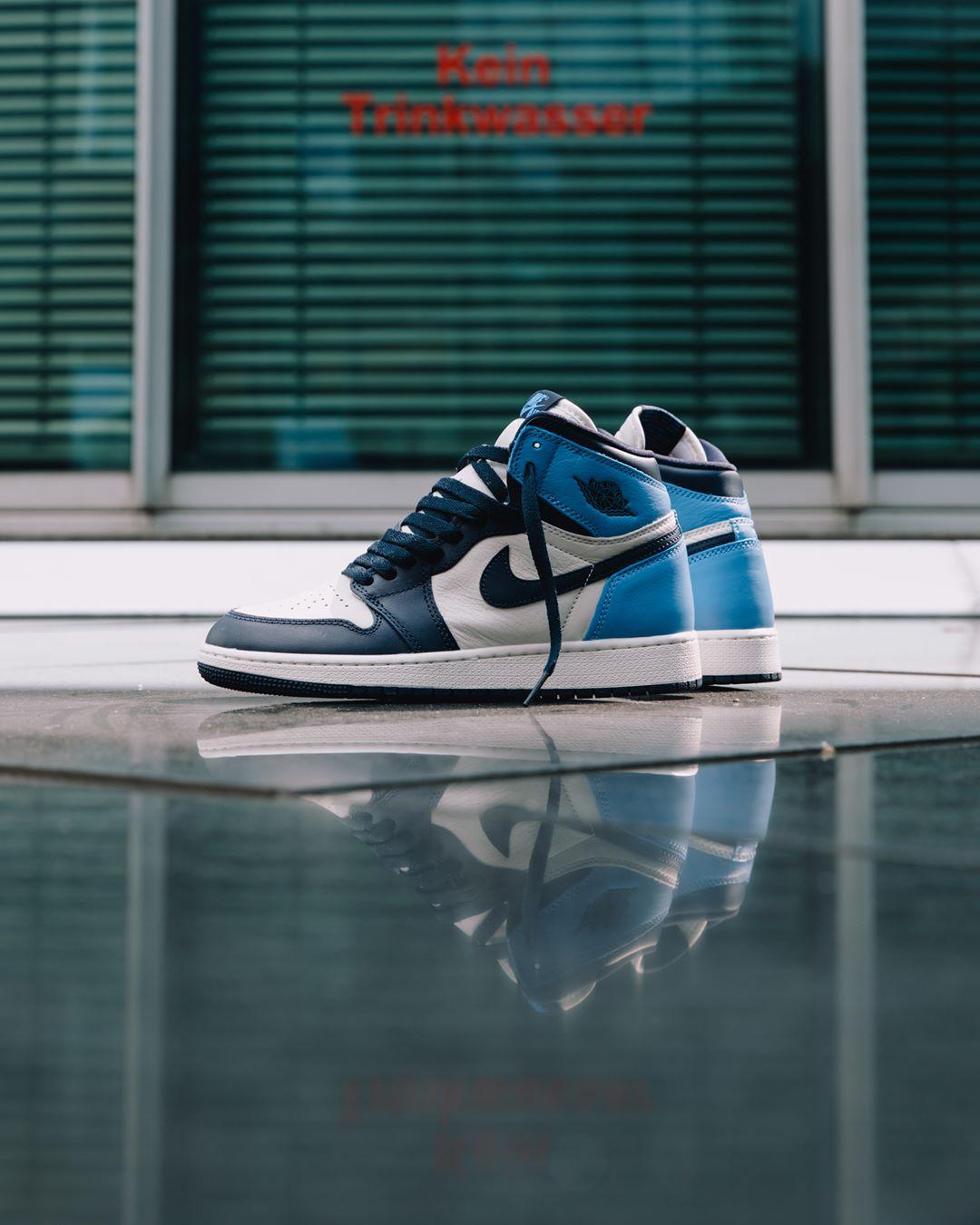 Air-Jordan-1-Retro-High-OG-Obsidian-UNC-5 - Sneaker Myth