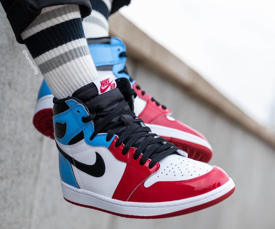 Air Jordan 1 High 'Fearless' - Sneaker Myth