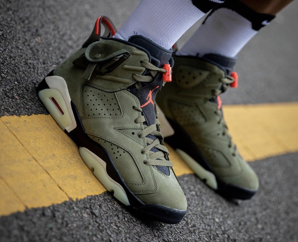 nike air jordan 6 travis scott raffle