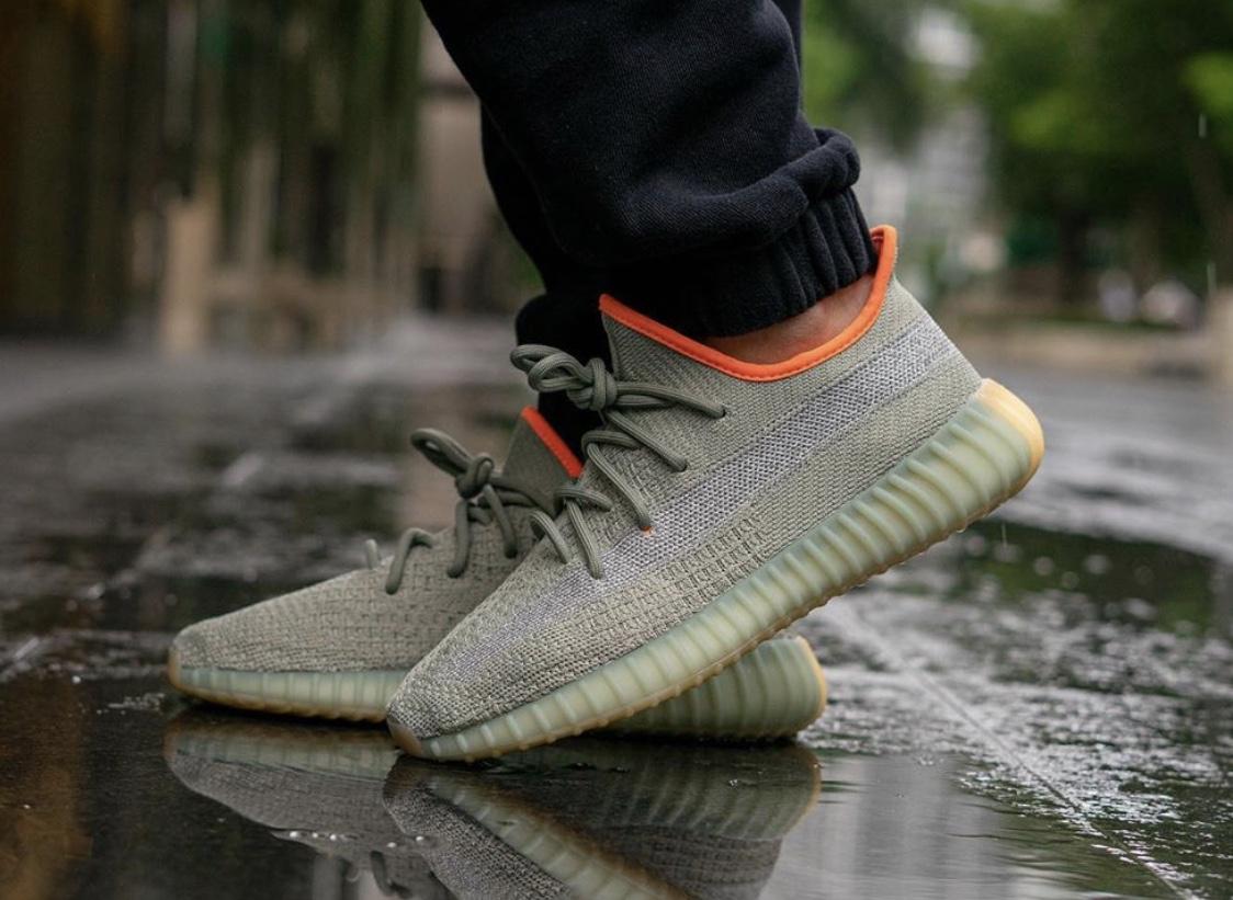 adidas Yeezy Boost 350 V2 'Desert Sage' Raffle List