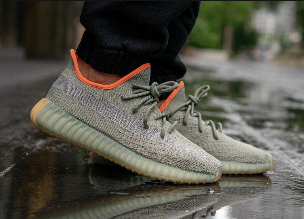 adidas Yeezy 350 V2 'Desert Sage' Sneaker Myth